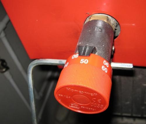 Фото: Как отрегулировать регулятор тяги для твердотопливных котлов?