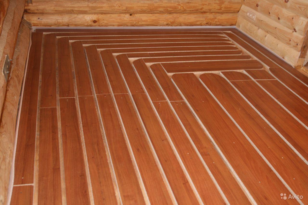 Электрический теплый пол на деревянный пол своими