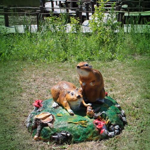 Фото: декор фарфоровыми фигурками