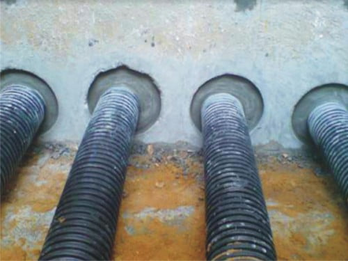 Зачеканка цементным раствором это купить бетон в чебоксары