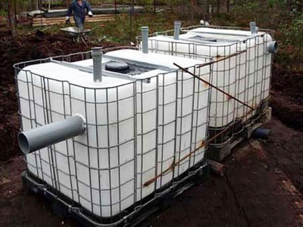 Как сделать септик на даче своими руками из бетонных колец