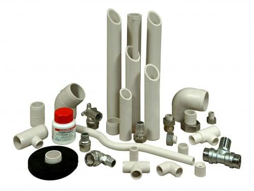 Фото: Пластиковые канализационные трубы