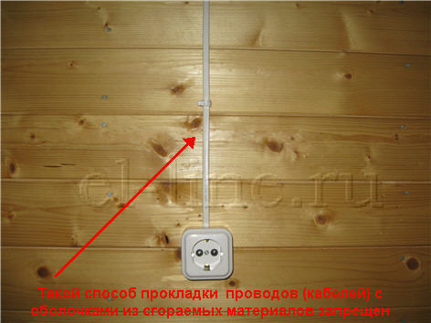 Как провести наружную проводку в доме своими руками