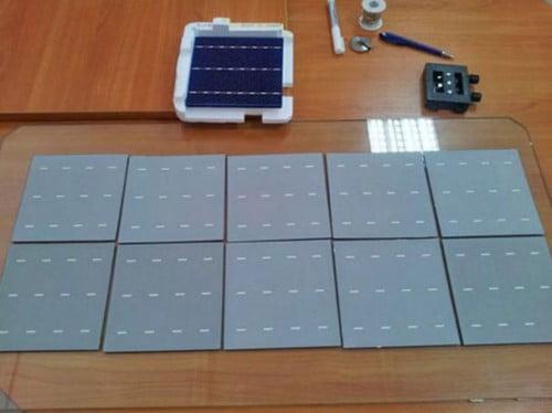 Фото: Составные элементы будущей солнечной батареи