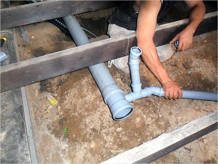 Внутреннюю канализацию своими руками