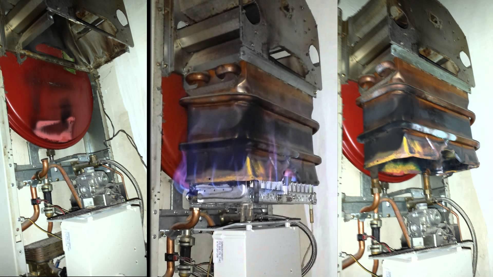 Чистка горелки газового котла