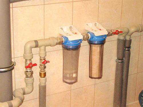 Фильтр для воды установка своими руками фото