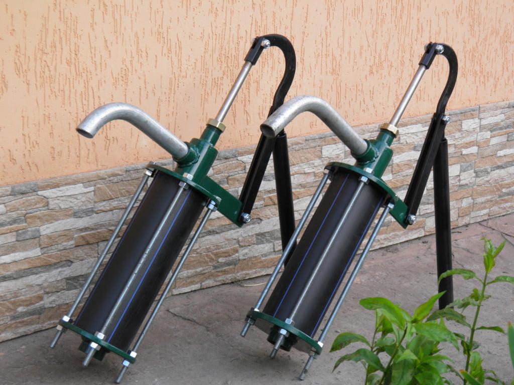 Насос для воды из пластиковых труб