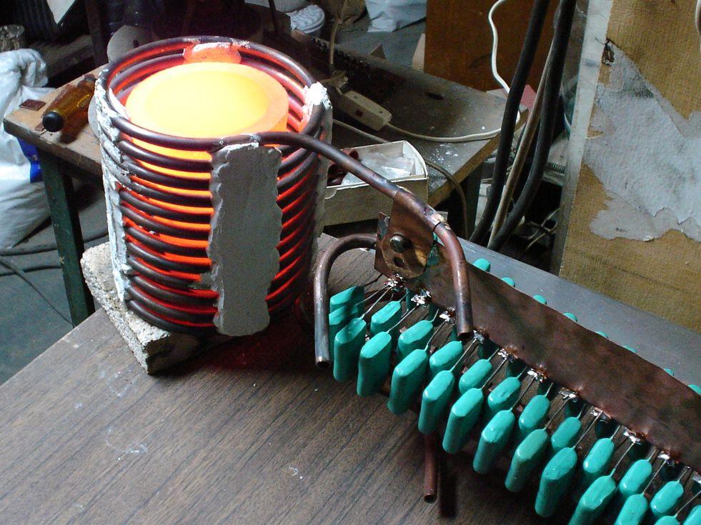 Электро печка своими руками 25