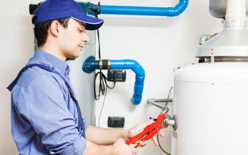 Фото: монтаж газового оборудования