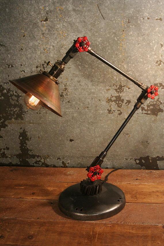 Сделать своими руками настольную лампу
